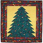 A Christmas Tree Quilt