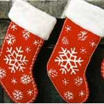 Snow Flake Stocking