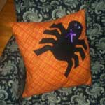 Scary Spider Pillow