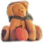 Pumpkin Teddy Bear
