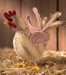 A Stuffed Rooster